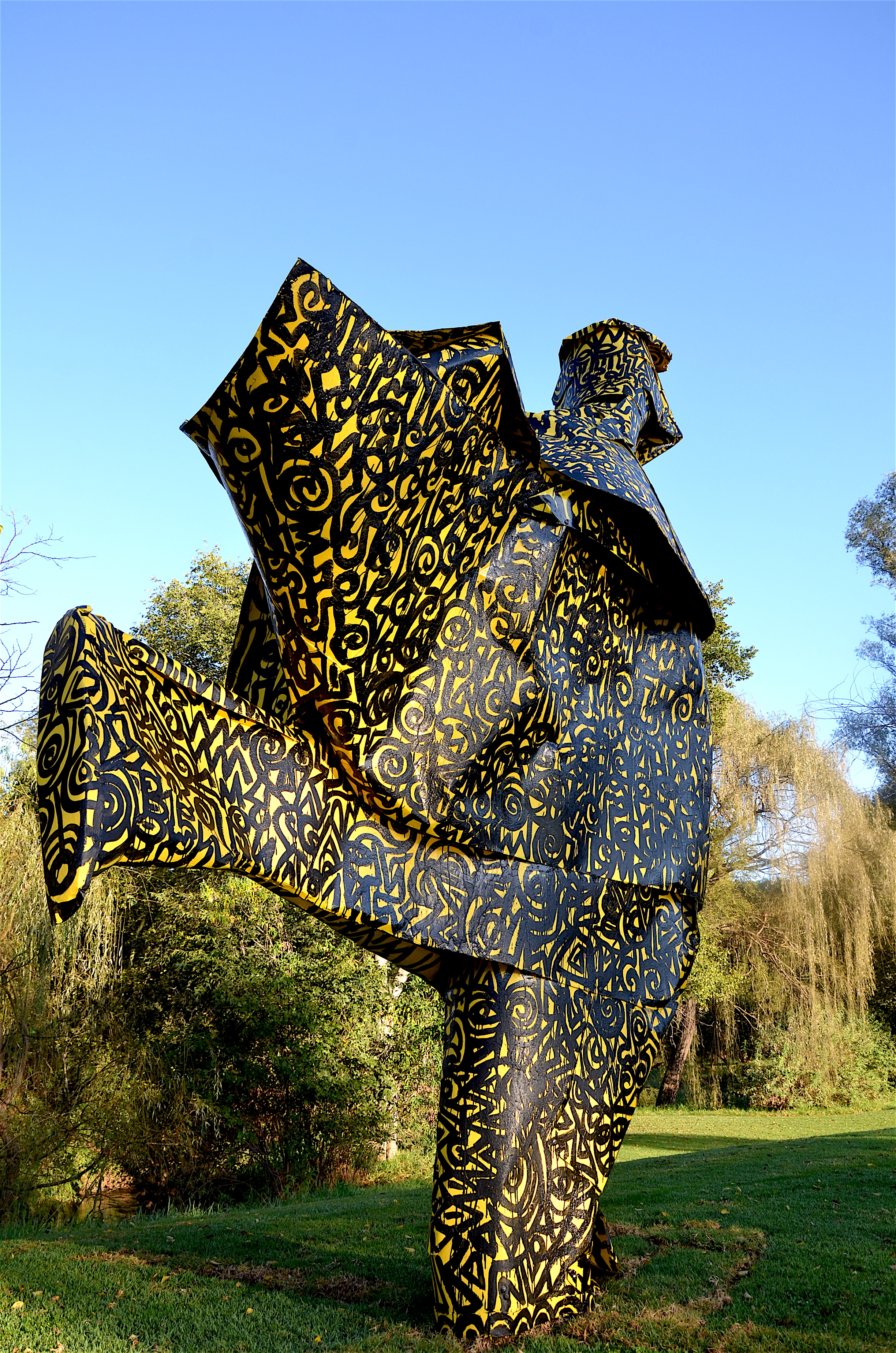 Isimagodo-Sculpture-Nirox Foundation South Africa